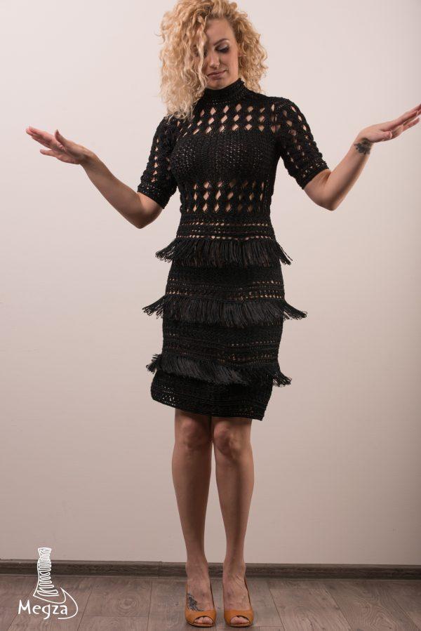 221. Progine suknele Megza vestuvine suknele, vestuvines sukneles, progine suknele, megzta suknele, prabangi suknele, juoda suknele, megzta suknele, ranku darbo suknele, nerta suknele 1