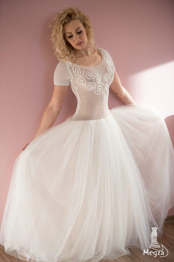MGZ-200 vestuvine suknele, megza suknele, vestuvines sukneles, wedding dress, wedding dresses, progine suknele, nerta suknele, megzta suknele, vestuvine ranku darbo suknele, sampanine suknele4