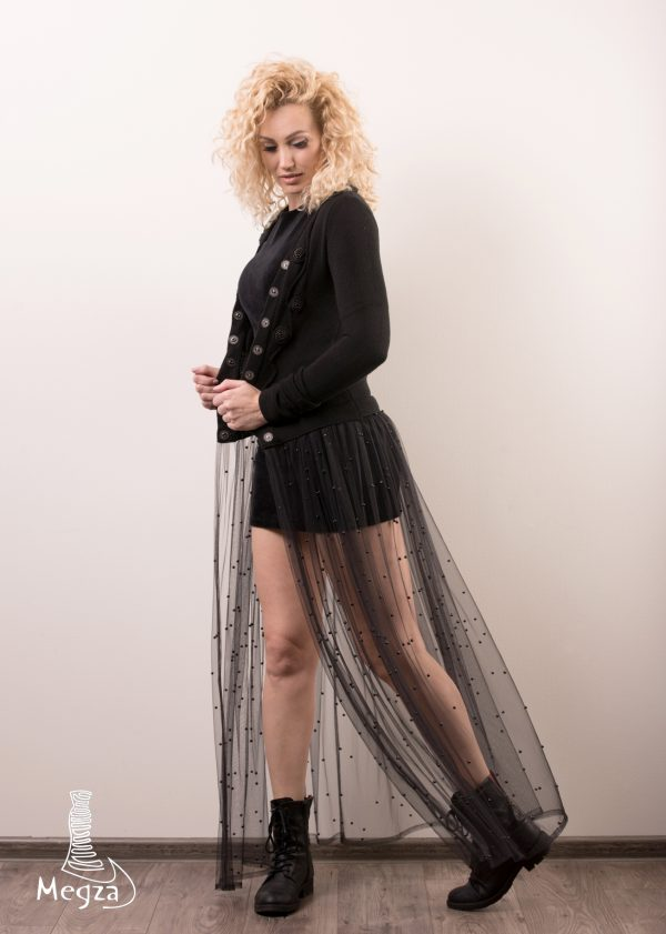 Megza MGZ-268 sukneliu namai, melynas kostiumelis, oficialus kostiumelis, moteriskas kostiumelis, megztukas, moteriskas megztukas, suknele, prabangi suknele4